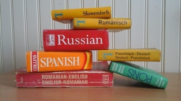 Russian, spanish dictionary