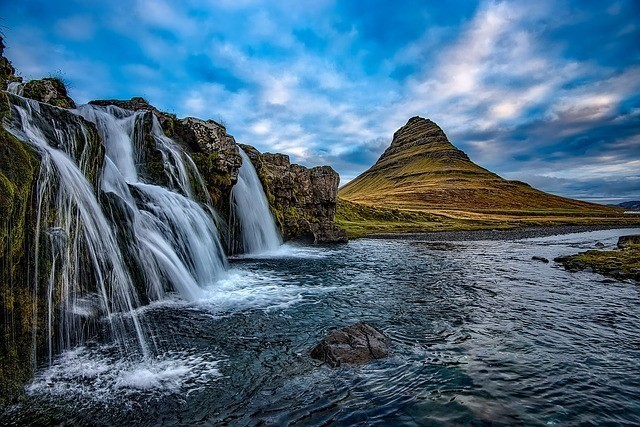 Mountains in Kirkjufell. Game Of Thrones filming sets