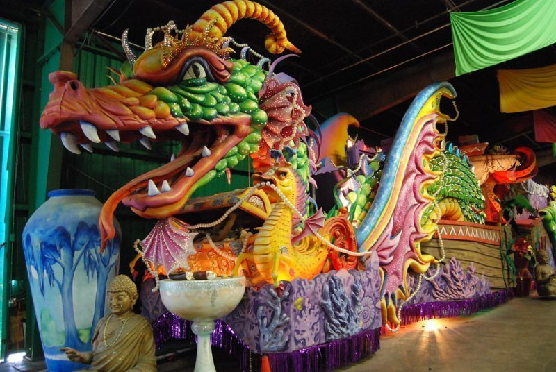 狂歡節世界 (Mardi Gras World)