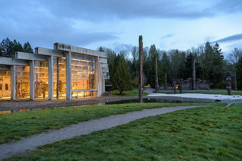 UBC人類學博物館 (museum of anthropology vancouver)